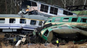 Train Collision in Poland  4-3-12