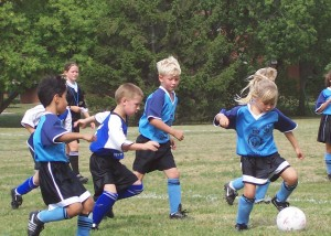 kiddies soccer by sd2005 at freeimages.com
