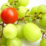 Outsider tomato with grapes by shubijam - at www.freeimages.com