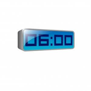digital clock by iprole at freeimages.com