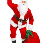 Happy Christmas Santa by Kurhan at                    freeimages.com