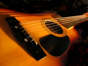 acoustic guitar by bubbels