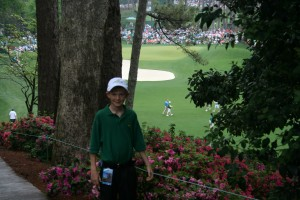 I liked this picture showing more of the beauty of Augusta.