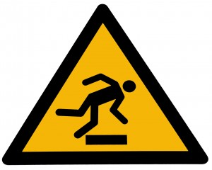 Caution Tripping Hazard by  Ayla87 at freeimages.com