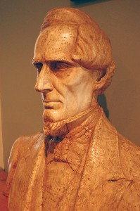Jefferson Davis Bust - Wikimedia commons Photo